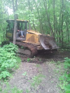 Trail Maintenance along the Red River in Emerson